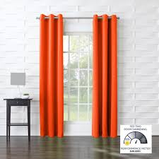 curtains orange color block curtains cents kids yellow and white