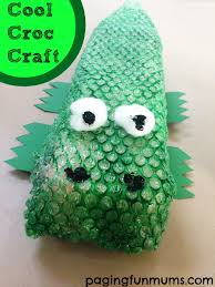 cool croc craft for kids
