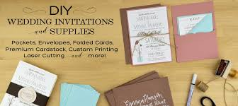 folding wedding invitations cards pockets diy wedding invitation supplies