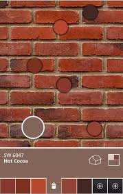exterior paint colors that go with red brick for the home