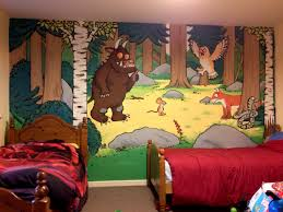 112 best kid s murels images on pinterest painting babies gruffalo painted wallmural