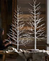 pre lit white 5 6 7 ft glitter tree w micro led lights