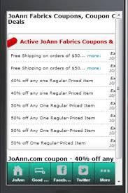 joanns coupon app joanns coupons app uceris coupons