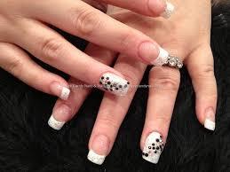 nail art with white tips choice image nail art designs