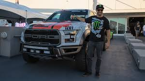 Ford Raptor With Tracks - celebrate forza horizon 3 with ken block at the petersen