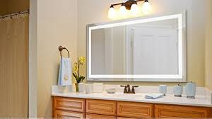 Large Bathroom Mirror With Lights Large Wall Mirrors Large 60 Inch X 30 Inch Led Bathroom Mirror