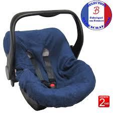 tissu pour siege auto housse de siège auto cosy bébé en tissu éponge ep6 bébé achat