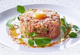 tartare cuisine neil martin s steak tartar with quail egg recipe 9kitchen