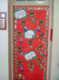 Decoration For Christmas For Office by Christmas Classroom Door Decorating Ideas Christmas Lights