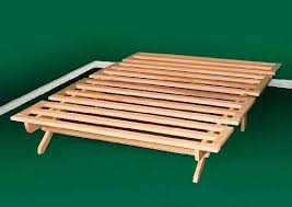 folding air bed frame queen malouf structures platform wooden