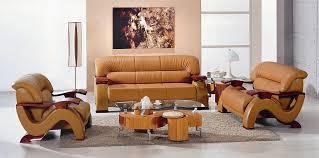 Wood And Leather Sofa Modern Camel Leather Sofa