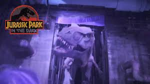 what rides are open during halloween horror nights orlando jurassic park in the dark at halloween horror nights youtube