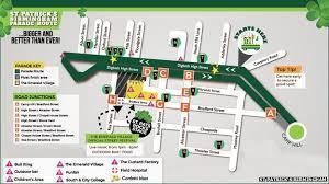 Bullring Floor Plan Birmingham Holds St Patrick U0027s Day Parade Bbc News