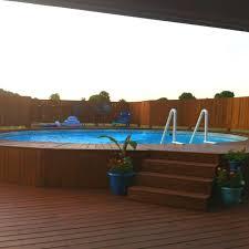 228 best above ground pool decks images on pinterest backyard