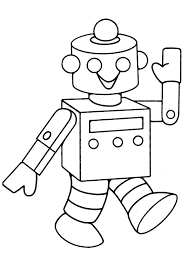 robot coloring pages print coloringstar
