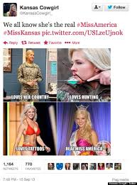Cowgirl Memes - image 609471 2014 miss america twitter backlash know your meme