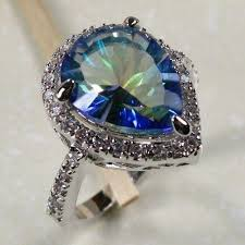 silver topaz rings images Sterling silver mystic topaz ring at rs 1139 piece sterling jpg