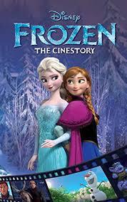 disney frozen cinestory comic disney 9781926516004 amazon