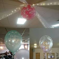 teddy bears inside balloons venue balloons