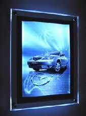 led picture frame light lightbox photo frame poster frame millioncolour display