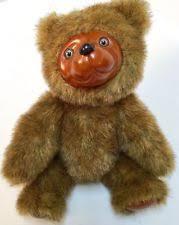 wooden faced teddy bears raikes bears ebay