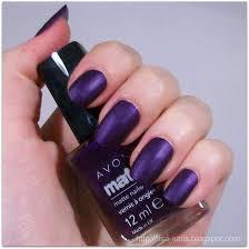 avon matte u2013 violet u2013 nails at home