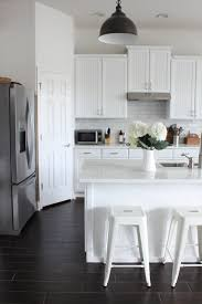 satin nickel white kitchen love everything about this renovation reveal the kitchen starfish cottage
