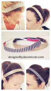 headbands that stay in place make your own no slip headbands things to sew