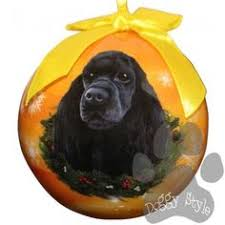 rudolph me ornament cocker spaniel