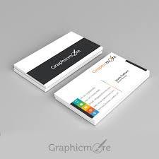 multicolor business card template design free psd file