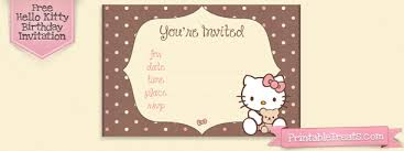 hello kitty printable birthday invitation u2013 orderecigsjuice info