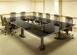 Large Conference Table Tangent Granite Open Center Conference Table Stoneline Designs