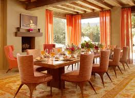 picture of dining room gorgeous orange in the dining room decorating ideas decobizz com