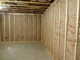 the basic material for insulating basement walls basement