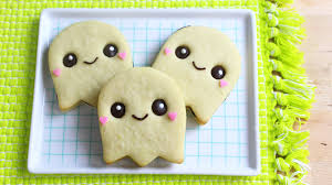 how to make halloween ghost cookies youtube