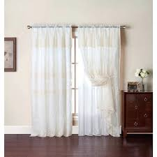 Priscilla Curtains With Attached Valance White Priscilla Curtains With Attached Valance Sheer Priscilla