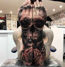 matching skull tattoos on both arms best ideas gallery