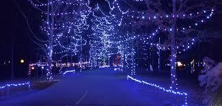 drive through christmas lights ohio holiday lights on the hill