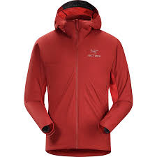 cycling rain jacket sale arc u0027teryx atom sl hooded insulated jacket men u0027s backcountry com