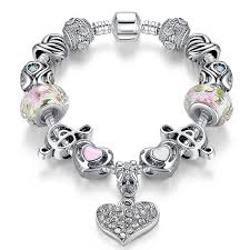 heart bracelet charms images Loving heart treble clef charm bracelet melody port jpg
