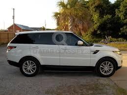 land rover white for sale 2014 range rover sport hse white v6 fully loaded 4x4 suv