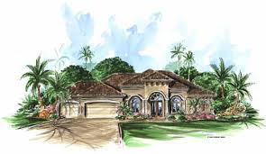Florida Home Design Florida Style House Plans Plan 55 104