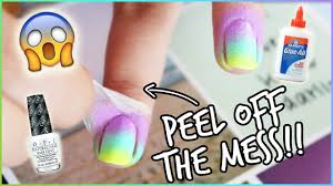 nail hack clean manicure in seconds youtube