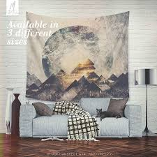 one mountain at a time wall tapestry tapestry beautiful wall