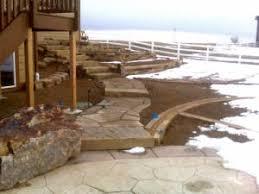 Rock Patio Design Patios U0026 Walkways Alpine Landscaping
