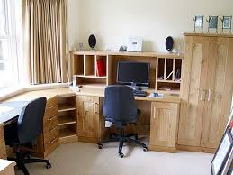 Corner Home Office Desks Corner Desk Home Office Furniture For Exemplary Fitted Home Office