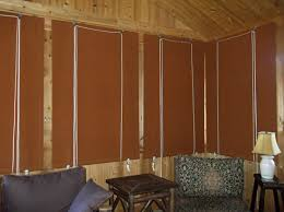 canvas porch roller curtains privacy shade u0026 protection