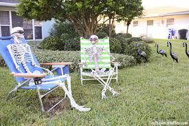 Halloween Yard Decorations Diy Skeleton Lawn Decorations For Halloween Helpful Homemade