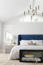 navy blue headboard in amazon com full queen faux linen antique