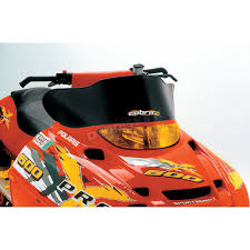 powermadd cobra windshield snocross style 11511 snowmobile